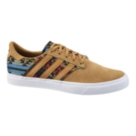 adidas Seeley Premiere Men's Skate Shoes - Tan/Print