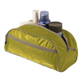 Sea to Summit Travelling Light Toiletry Bag - Large Lime