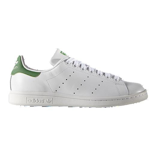 Adidas Women S Stan Smith Shoes White Green