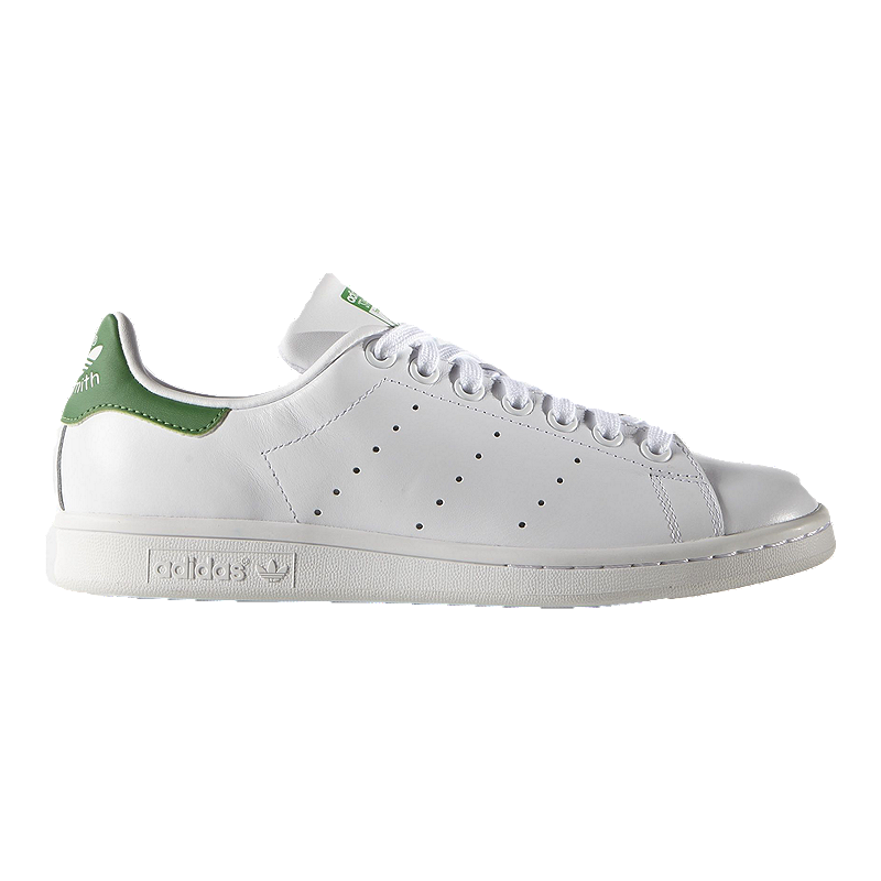 a1454156f1f1 adidas Women s Stan Smith Shoes - White Green