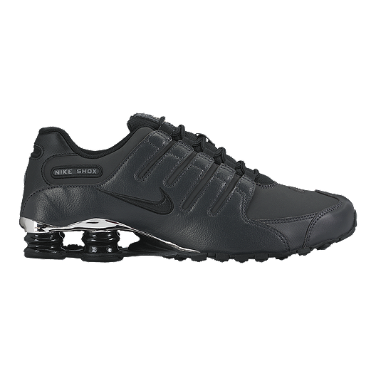 10f189edb8c6 Nike Men s Shox NZ Premium Shoes - Black