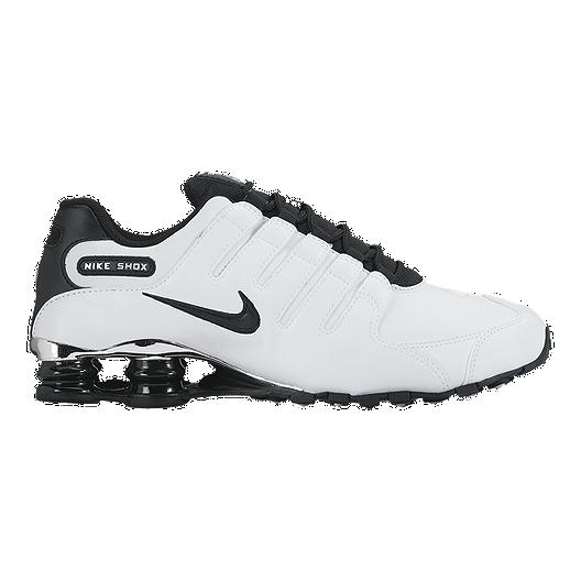 the best attitude 5df78 b1d81 Nike Men s Shox NZ Premium Shoes - White Black   Sport Chek