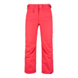 Roxy Girls' Backyard Insulated Snow Pants
