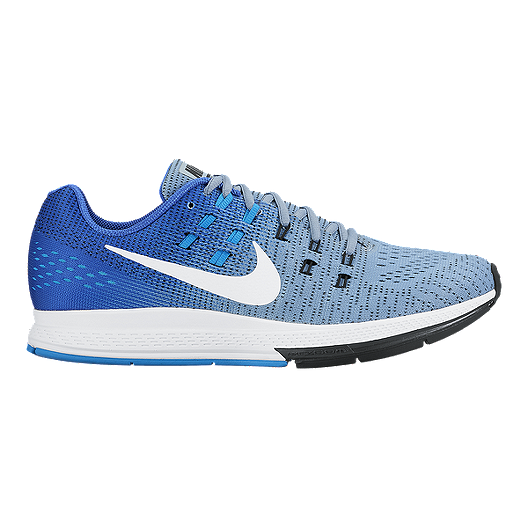 0dff873fa502 Nike Men s Air Zoom Structure 19 Running Shoes - Blue White