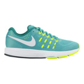 Nike Women's Air Zoom Vomero 11 Running Shoes - Jade/Volt Green/White