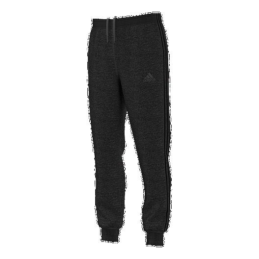 0e7fa3477f25 adidas Team Issue 3 Stripe Jogger Fleece Men's Pants