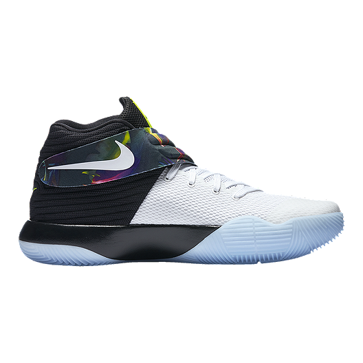 in stock a184c 1e9ca Nike Men s Kyrie 2 Basketball Shoes - White Black Volt Green   Sport Chek