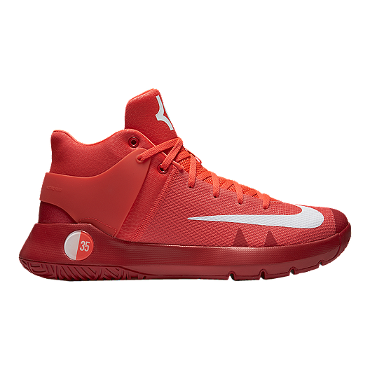 eb330ad3ee83 Nike Men s KD Trey 5 IV Basketball Shoes - Red White