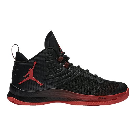 61b323cee8f8 Nike Men s Jordan SuperFly 5 Basketball Shoes - Black Red
