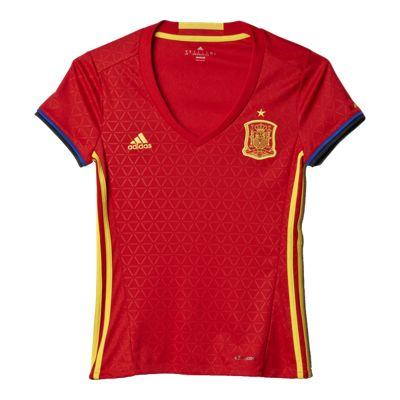 Spain Women's Home Soccer Jersey