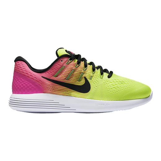 release date: c6ab7 a518c Nike Women's LunarGlide 8 Unlimited Running Shoes - Volt ...