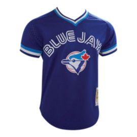 online retailer c8e6e 198c5 Toronto Blue Jays Men's Mitchell and Ness Alomar Batting Practice Jersey