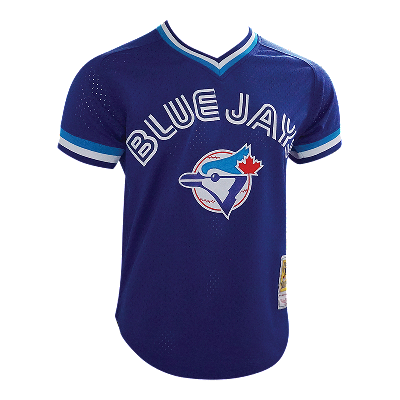 online retailer 6782a a783f Toronto Blue Jays Men's Mitchell and Ness Alomar Batting Practice Jersey
