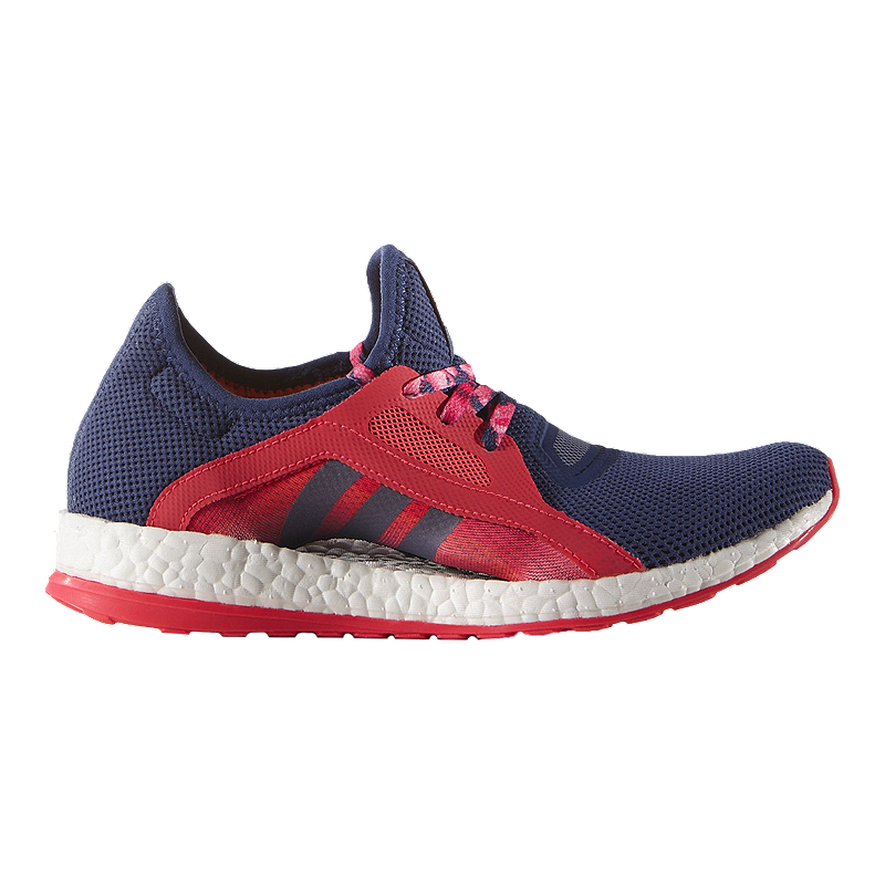 ff93784629bc8 adidas Women s Pure Boost X Running Shoes - Purple Red