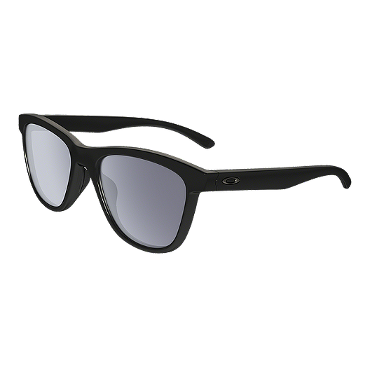 f137a65606 Oakley Moonlighter Polished Black Sunglasses with Grey Lenses ...