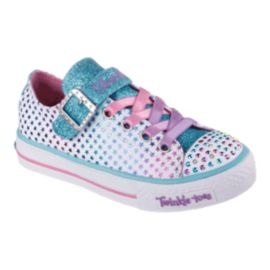 Skechers Toddler Girls Twinkle Toes Shuffles Athletic Shoes - Mysticals