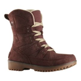 Sorel Women's Meadow Lace Casual Boots - Redwood