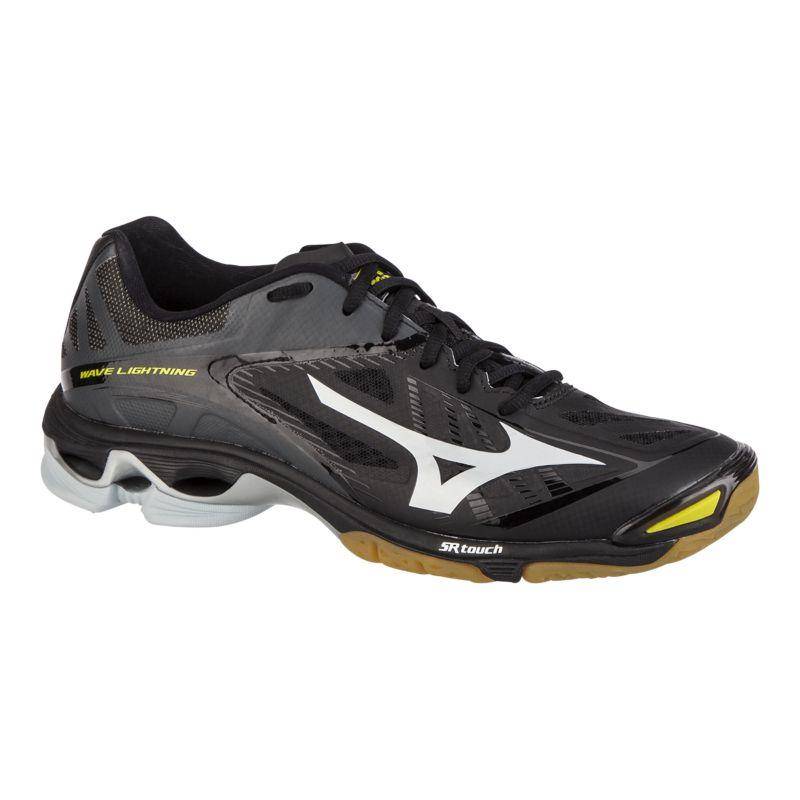 mizuno s wave lightning z2 indoor court shoes black