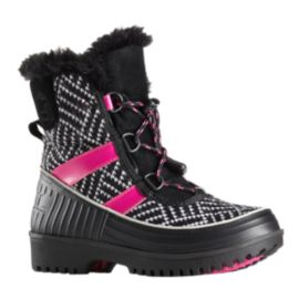 Sorel Girls' Tivoli II Winter Boots - Black/Pink