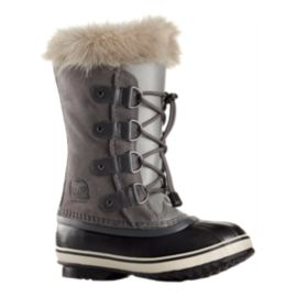 Sorel Girls' Joan of Arctic Winter Boots - Quarry