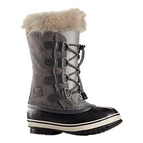 Sorel Girls  Joan of Arctic Winter Boots - Quarry b5bba6d9bd9f