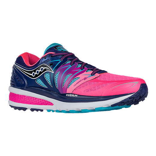 4feca5ba Saucony Women's Hurricane ISO 2 Running Shoes - Pink/Blue/Aqua Blue