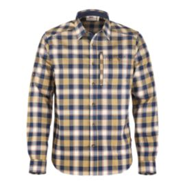 Fjällräven Men's Fjallglim Long Sleeve Plaid Shirt