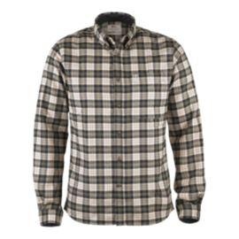 Fjällräven Men's Stig Flannel Long Sleeve Plaid Shirt