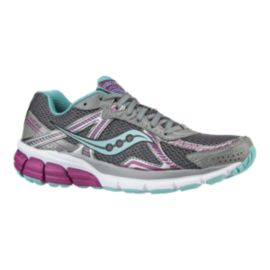 Saucony Women's ProGrid Jazz 2.0 Running Shoes - Grey/Purple/Blue