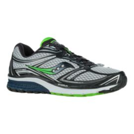 Saucony Men's Everun Guide 9 Running Shoes - Silver/Green