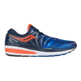 Saucony Men's Hurricane ISO 2 Running Shoes - Blue/Orange