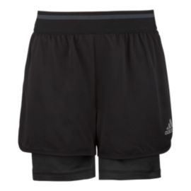 adidas climachill™ Girls' Dual Shorts