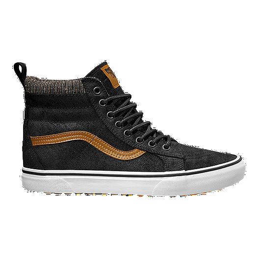 b63fe28ad189b7 Vans SK8-HI (MTE) Shoes - Black Tweed