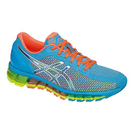 4a563baa96e9 ASICS Women s Gel Quantum 360 Running Shoes - Aqua Blue Multi-Colour ...