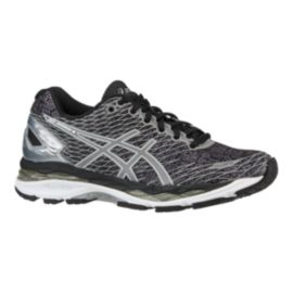 ASICS Women's Gel Nimbus 18 LS Running Shoes - Black/Silver
