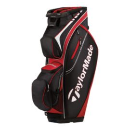 TaylorMade San Clemente Cart Bag - Red / Black / White