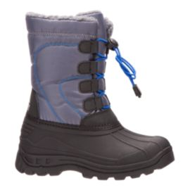 McKINLEY Kids' Boulder Winter Boots - Black/Blue