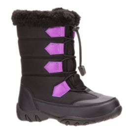 McKINLEY Girls' Oriel Winter Boots - Black/Purple | Sport Chek