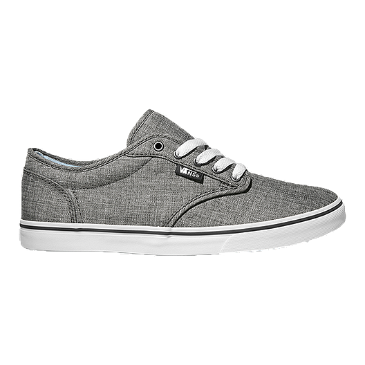f6ceeff6b2 Vans Women s Atwood Low (Textile) Skate Shoes - Grey