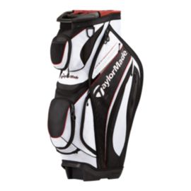 TaylorMade Catalina Cart Bag - White / Black / Red