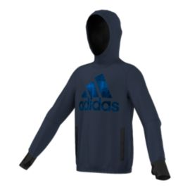 adidas Boys' Athletics Techfleece Logo Pullover Hoodie