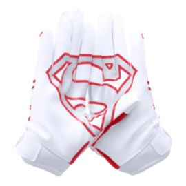Under Armour F5 Superman Youth Football Glove