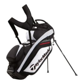 TaylorMade Supreme Hybrid Stand Bag - White / Black / Red
