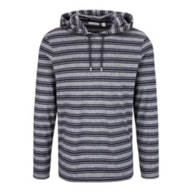 Lacoste Men's Pull Over Stripe Hoodie T-Shirt