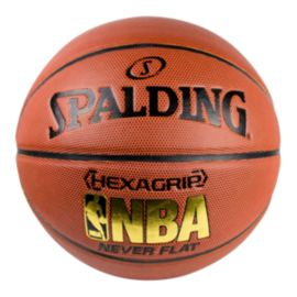 Spalding Neverflat Hexagrip Basketball - Size 7