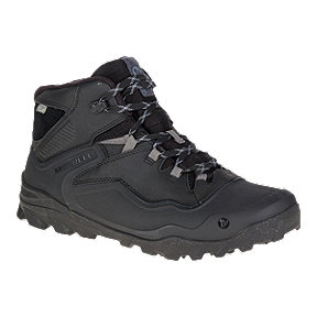 Merrell Men's Overlook 6 Ice+ Waterproof Winter Boots - Black