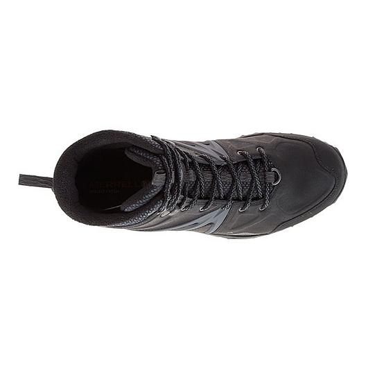 6e33e3251de Merrell Men's Capra Glacial Ice+ Mid Waterproof Winter Boots - Black ...