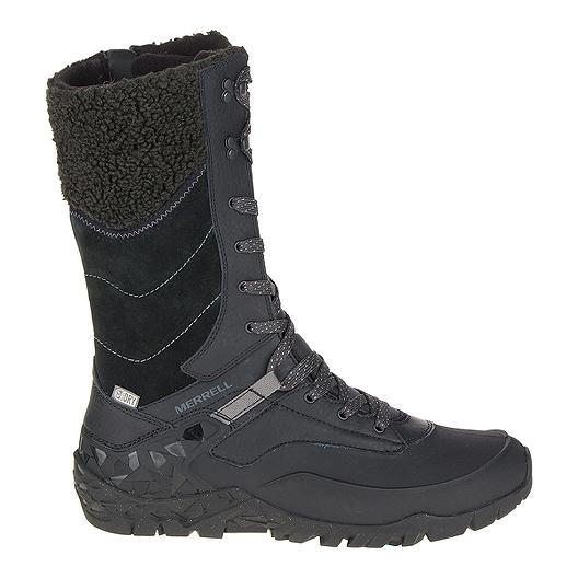 67e465aef0 Merrell Women's Aurora Tall Ice+ Waterproof Winter Boots - Black