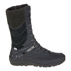 33303dfa4994 image of Merrell Women s Aurora Tall Ice+ Waterproof Winter Boots - Black  with sku 332100703