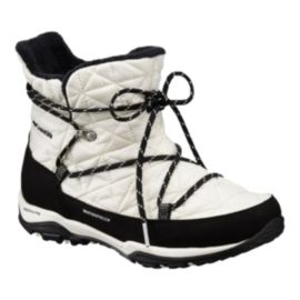 Columbia Women's Loveland Shorty Omni-Heat Winter Boots - Sea Salt